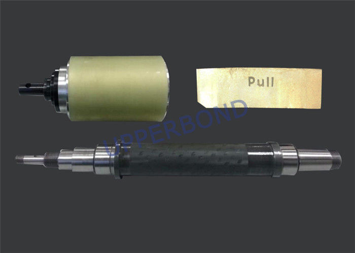 Tobacco Machinery Spare Parts Steel Roller Of Embossment To Emboss Foil Paper